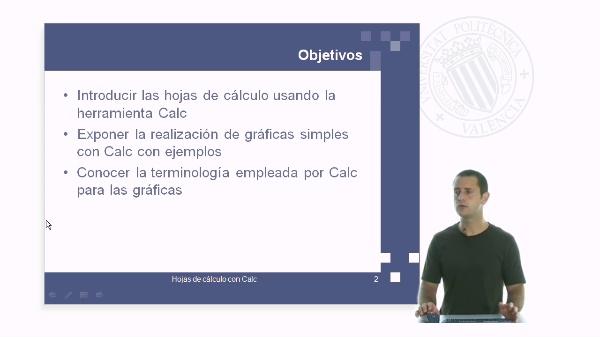 Calc: hojas de cálculo con software libre: Realización de gráficas