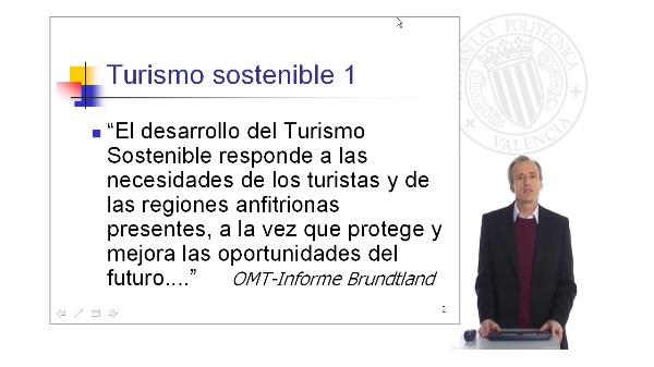 El Turismo sostenible