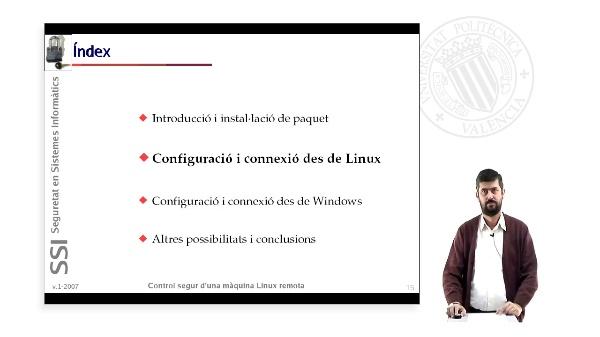 Control segur d''una màquina Linux remota (2 de 4)