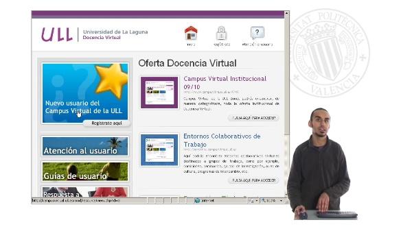Campus virtual de la Universidad de la Laguna