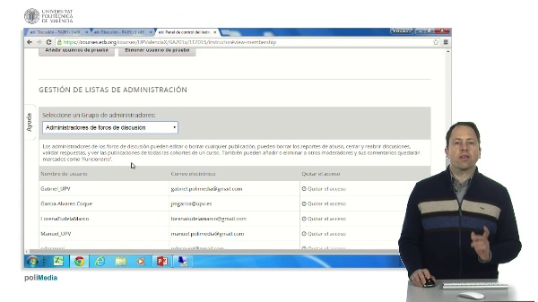 Administrar foros edX
