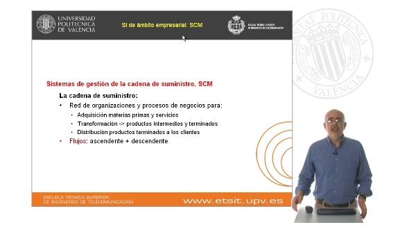 Sistemas de información de soporte a la gestión de la cadena de suministro, SCM