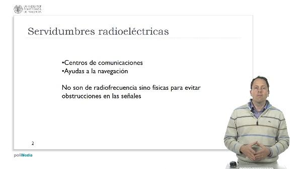 Ingeniería Aeronáutica - Servidumbres radioeléctricas: Centro de comunicación y radio ayudas