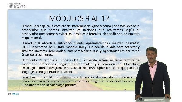 Coaching: Módulos 9 a 12