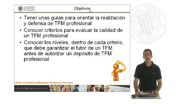 En qué consiste un Trabajo Fin de Máster de calidad: Modalidad profesional