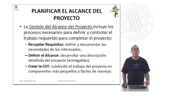 Planificar el Alcance del Proyecto