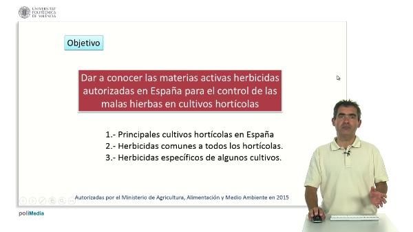 Herbicidas en Cultivos Hortícolas en España