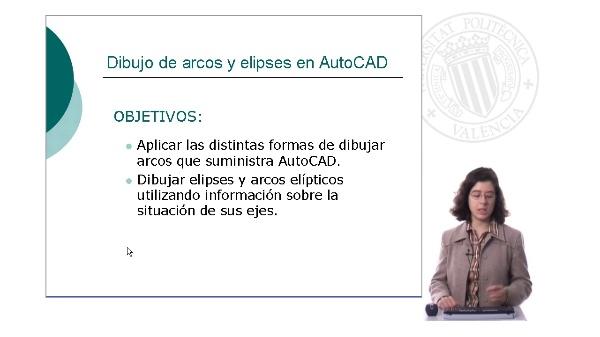 Dibujo de arcos y elipses en AutoCAD