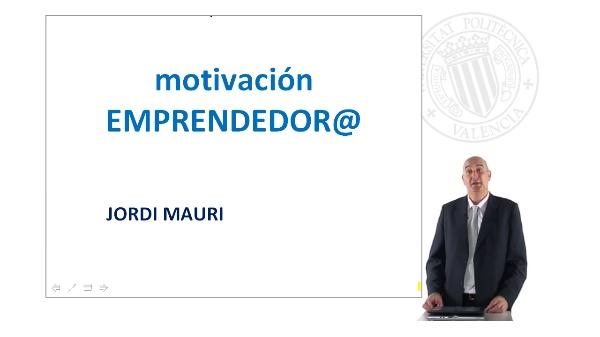 Motivación emprendedora