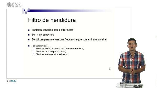 Filtro de Hendidura