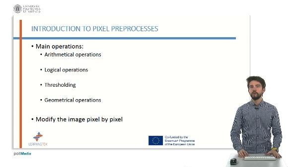 Pixel preprocesses.