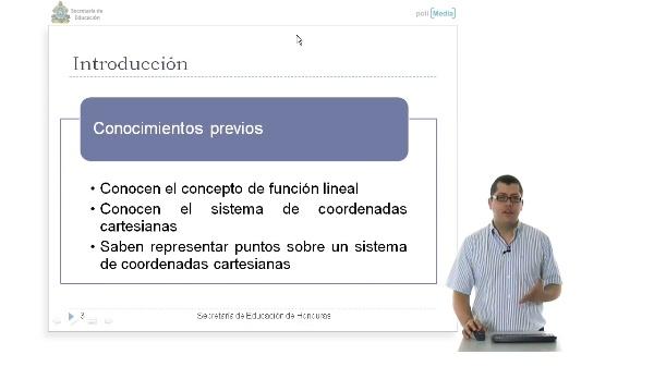 Ecuaciones lineales en dos variables. Gráfica de una función lineal en dos variables utilizando dos puntos