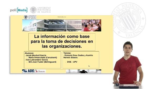 La información como base para la toma de decisiones en las organizaciones