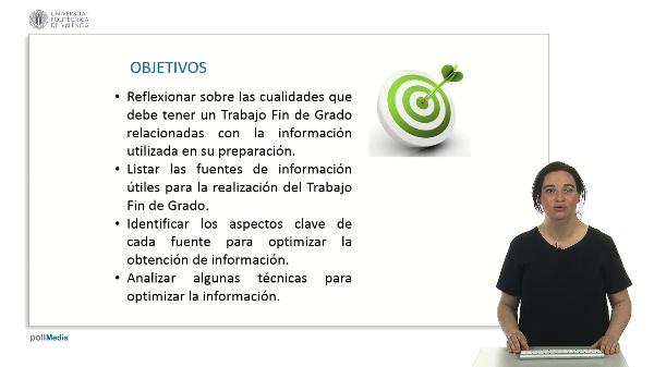 Optimización de la información para la realización del TFG