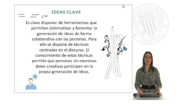 Módulo 2: Detectar necesidades y oportunidades de innovación (II): Generación de ideas innovadoras