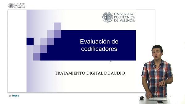 Evaluación de codificadores