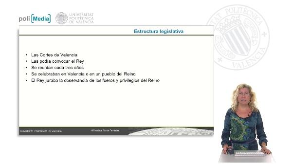Estructura legislativa y política