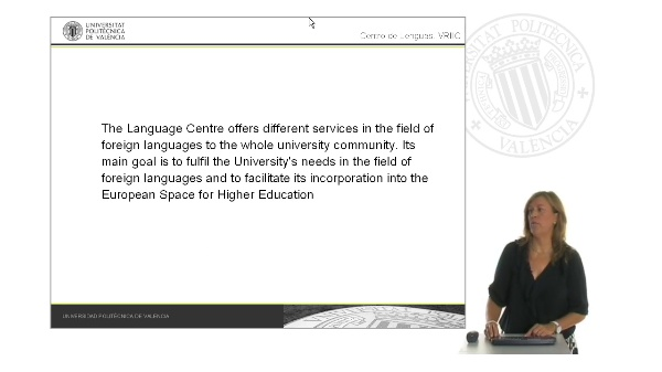 Centro de Lenguas de la UPV