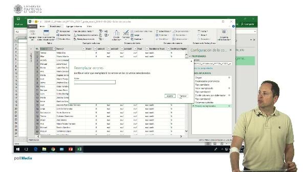 Excel. Power Query. Transformación y añadido de columnas