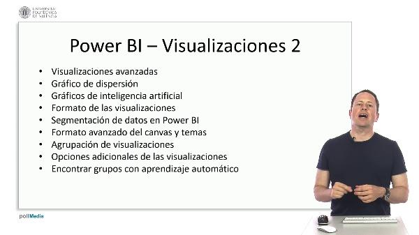 MOOC Power BI. Resumen tema visualizaciones 2