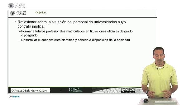 Que es investigar  para un profesor de universidad en España?