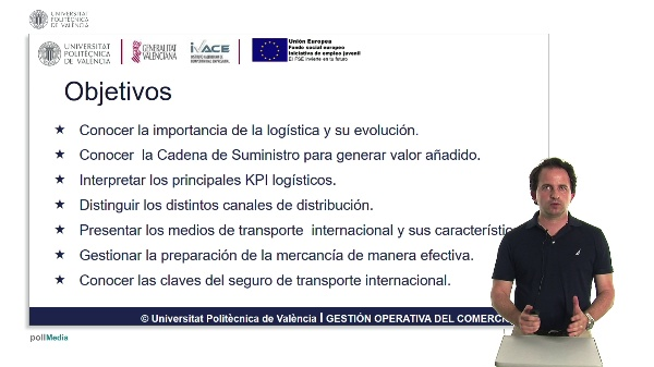 Presentación  Logística y Transporte Internacional