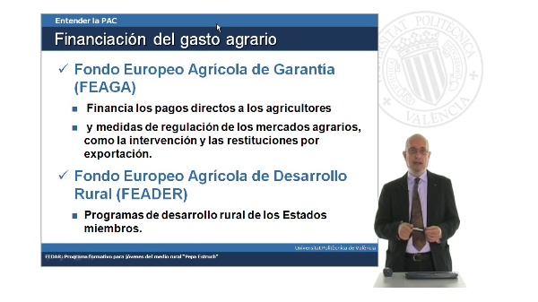 Financiación de la Política Agrícola Común