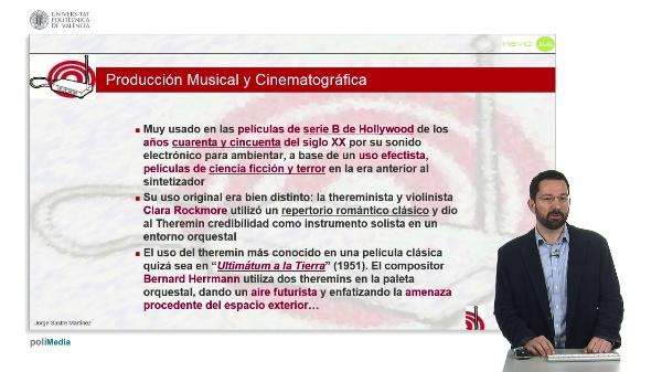 Historia de la Música Electrónica: Influencia del Theremin en la producción musical y cinematográfica