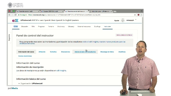 Estadísticas con edX Insights. Datos de inscripción y demografía