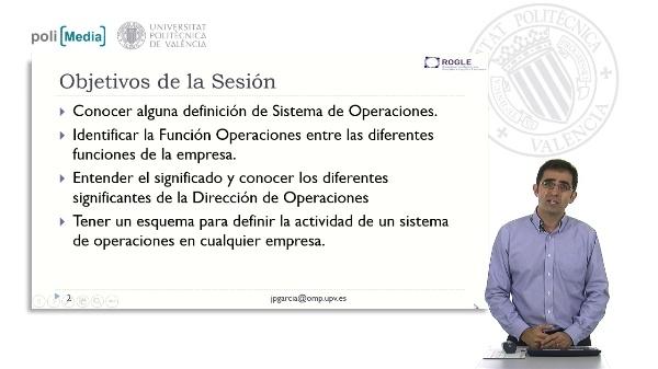 Introducción a la Dirección de Operaciones
