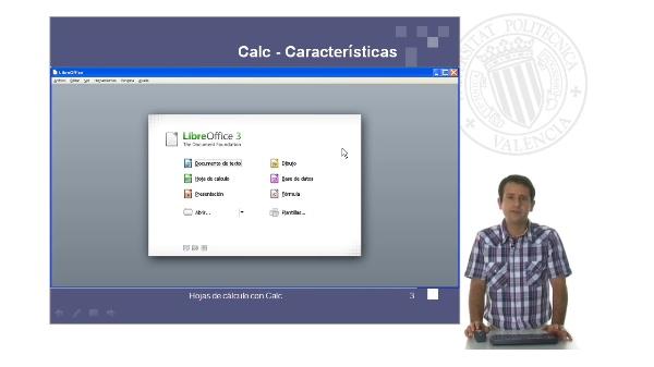 Calc: hojas de cálculo con software libre. Rellenado automático