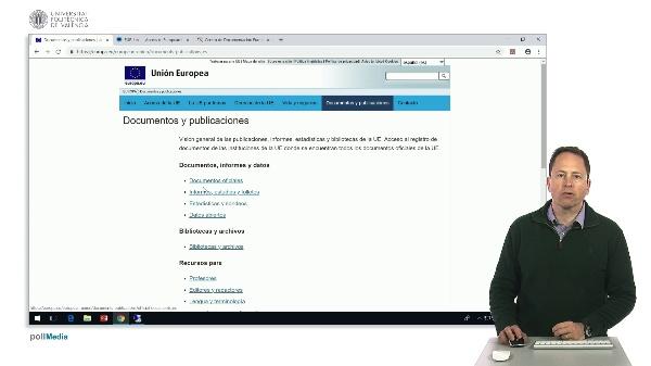 Buscar en Internet. Información Unión Europea