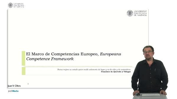 El marco de competencias europeo