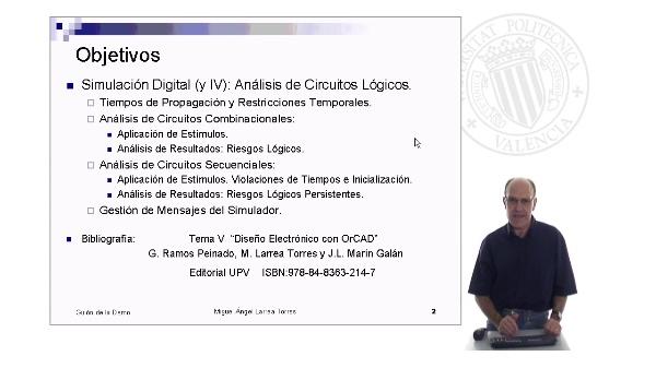 Prontuario de OrCAD. PSpiceA/D: Simulación Digital ( y IV)