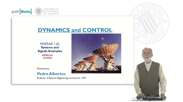 M1. Systems and Signals Examples. Artificial Systems