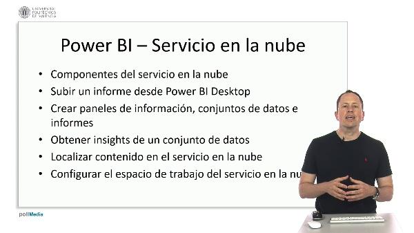 MOOC Power BI. Resumen módulo servicio en la nube