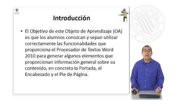 Elementos de información general de los documentos