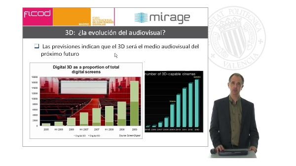 Sistemas de generación, gestión y presentación de contenidos audiovisuales autoestereoscópicos