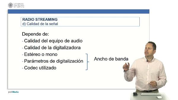 Radio en Streaming: Calidad de la señal