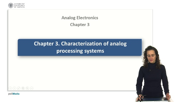Characterization of analog processing systems