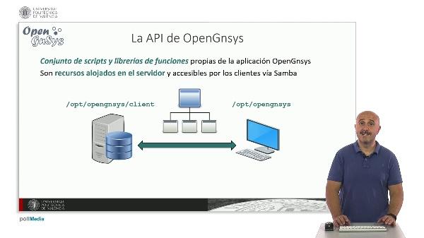 La API de OpenGnsys