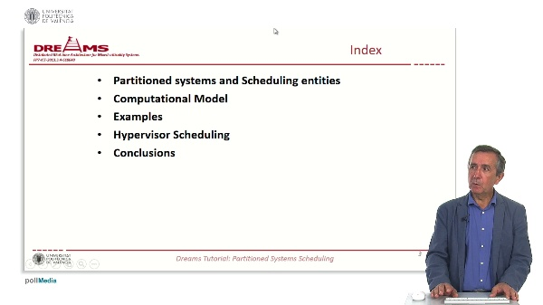 Partitioned Systems Scheduling