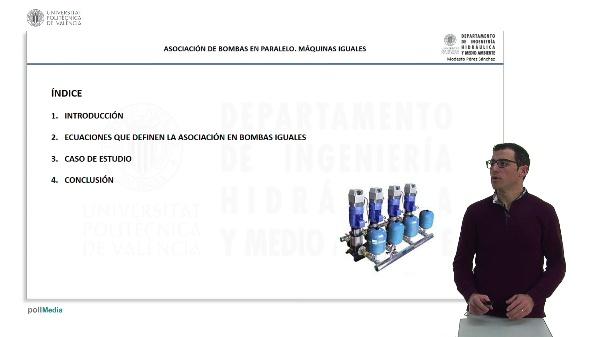 Asociación de bombas en paralelo: máquinas iguales