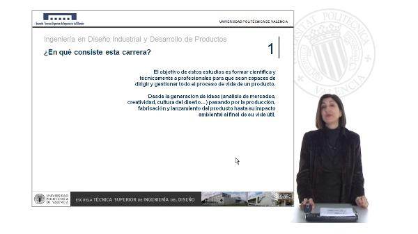 Grado en Diseño Industrial y Desarrollo de Productos