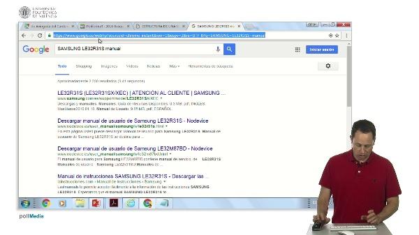 Buscar información en Internet. tema 3. Ejercicio. Buscar Manual TV