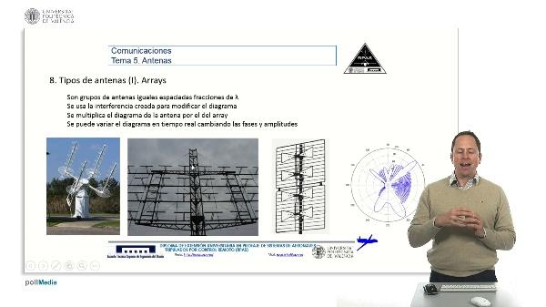Master RPAS. Asignatura comunicaciones. Antenas, arrays
