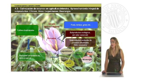 Unidad 4.3 Optimización de recursos en agricultura intensiva. Aprovechamiento integral de subproductos.