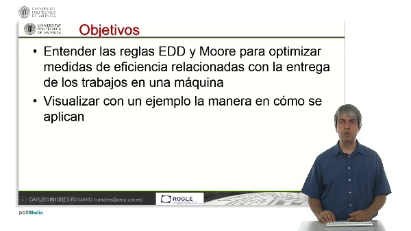 La regla EDD y MOORE