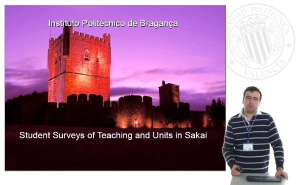 Students Surveys of Teaching an Units in Sakai