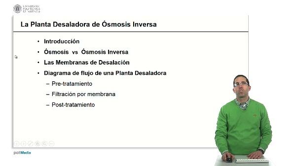 La planta desaladora de ósmosis inversa